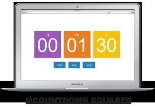 MCountDown - Responsive jQuery Countdown Plugin - 4